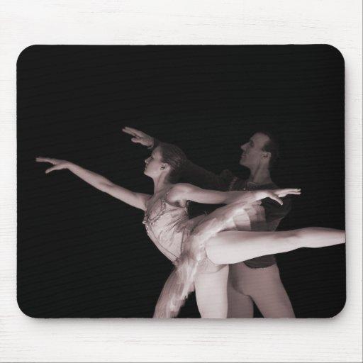 Ballet - danza Partners 2 - rojo Alfombrilla De Raton