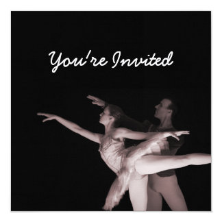Ballet - danza Partners 2 - rojo Anuncio Personalizado