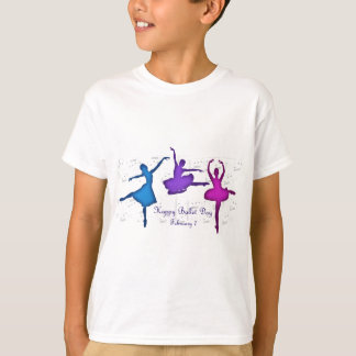 Ballet Day February 7 T-Shirt