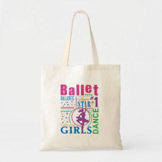 Ballet de Bourne Bolsas Lienzo
