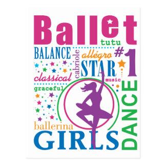Ballet de Bourne Tarjetas Postales