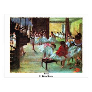 Ballet de Edgar Degas Postales