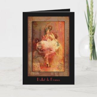 Ballet de France card