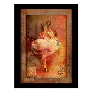 Ballet de France Post Card
