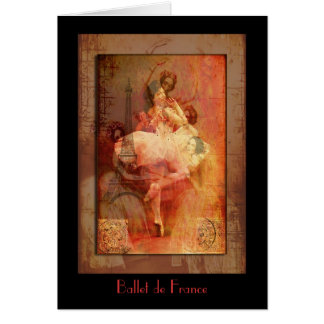 Ballet de Francia Felicitación