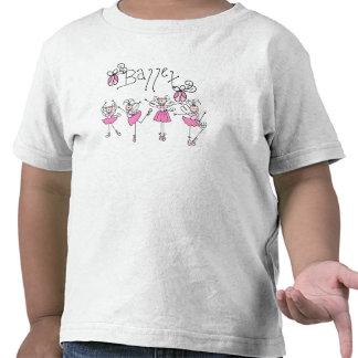 Ballet de hadas del ángel camiseta