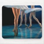 Ballet de la danza alfombrilla de ratón