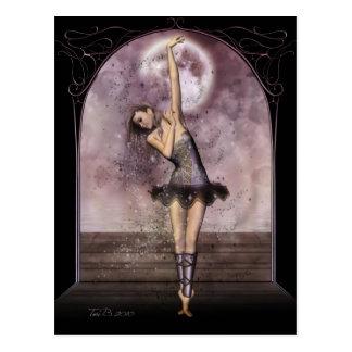 Ballet de medianoche tarjeta postal
