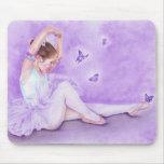 Ballet de Papillon Mousepad Tapete De Ratones