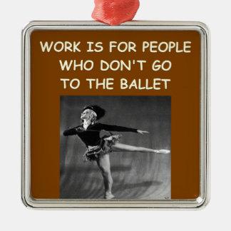 ballet ornamento para reyes magos
