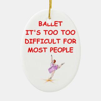 ballet ornamentos para reyes magos