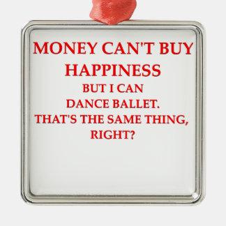 ballet adorno de navidad