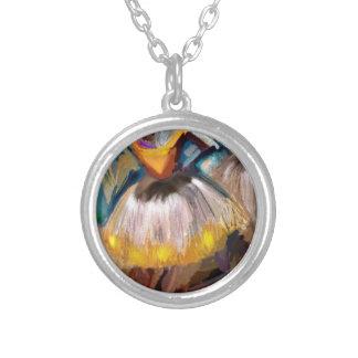 Ballet - Dega Silver Plated Necklace