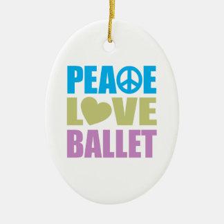 Ballet del amor de la paz ornamentos de reyes
