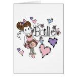 Ballet del amor tarjeta