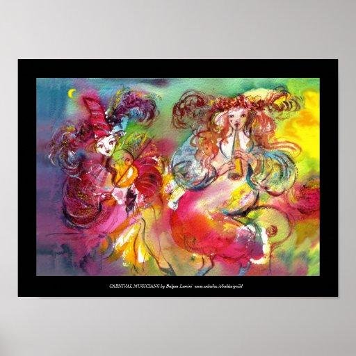 BALLET del CARNAVAL/mascarada veneciana, danza, mú Impresiones