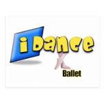 ballet del iDance Tarjeta Postal