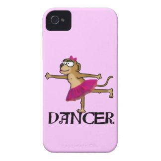 Ballet del mono iPhone 4 carcasas