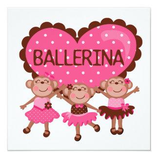Ballet del mono comunicados personales