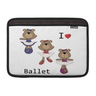 Ballet del oso fundas macbook air
