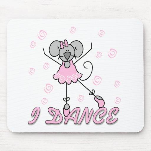 Ballet del ratón que bailo alfombrillas de ratón