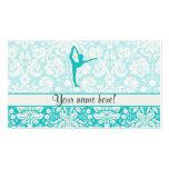 Ballet del trullo plantilla de tarjeta de visita