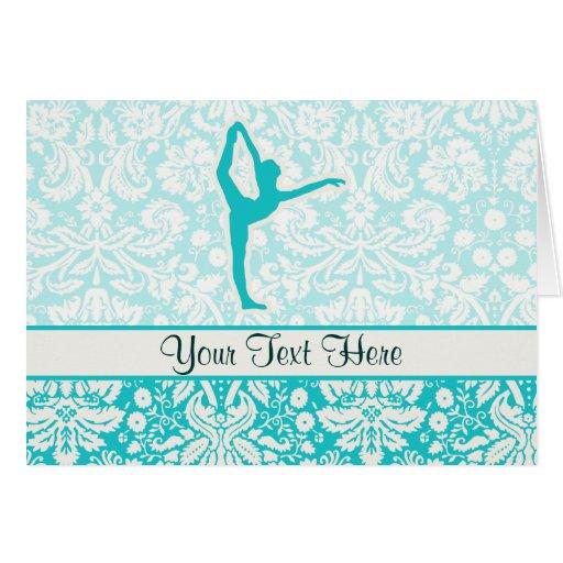 Ballet del trullo tarjeta de felicitación