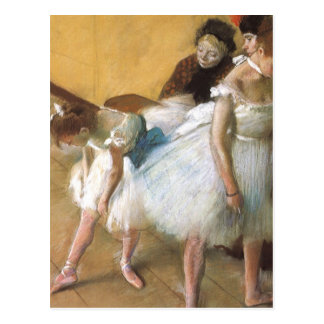 Ballet del vintage, examen de la danza de Edgar Tarjeta Postal