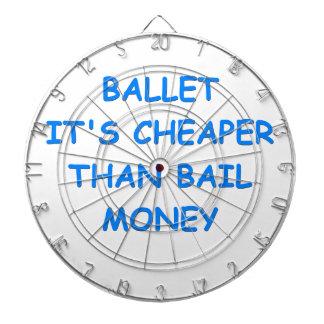 ballet tablero de dardos