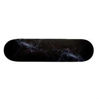 Ballet Digital Abstract Fractal Art Skate Board Deck