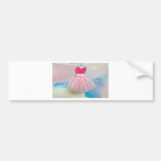 ballet dress.jpg bumper sticker