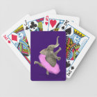 Ballet Elephant En Pointe Bicycle Playing Cards