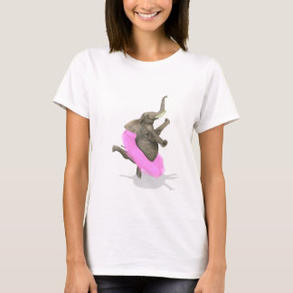 Ballet Elephant En Pointe T-Shirt