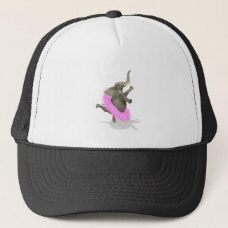 Ballet Elephant En Pointe Trucker Hat