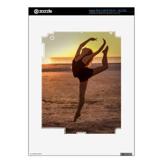 Ballet en la piel del iPad de la playa iPad 3 Skin
