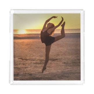 Ballet en la playa