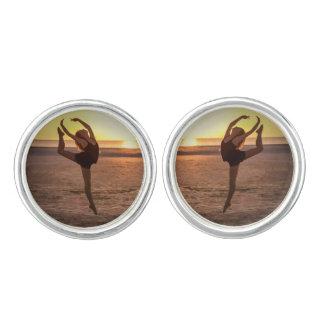 Ballet en la playa gemelos