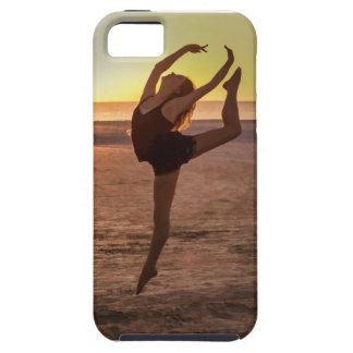 Ballet en la playa iPhone 5 fundas