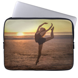 Ballet en la playa mangas portátiles