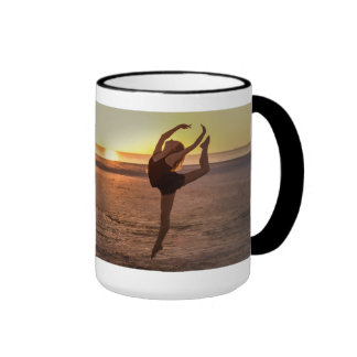 Ballet en la taza de la playa