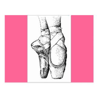 Ballet -- En Pointe Postales