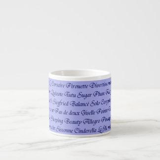Ballet Espresso Cup