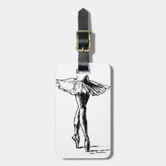 Ballet Etiqueta De Maleta