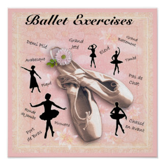 Ballet Exercises Poster