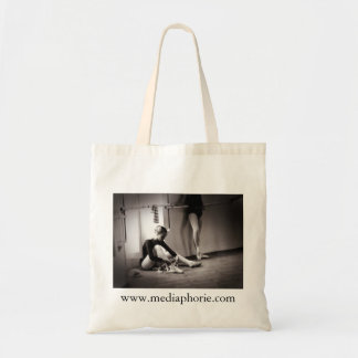 Ballet exercises tote bag