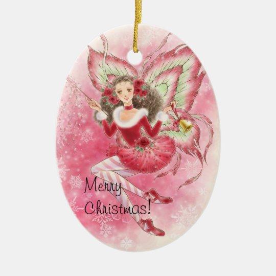 Ballet Fairy Christmas Ornament