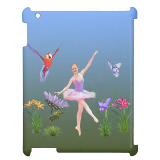 Ballet Fantasy, Flowers, Parrot, Butterfly Case For The iPad 2 3 4