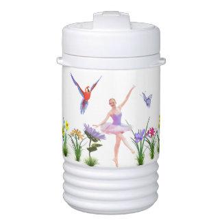 Ballet Fantasy, Flowers, Parrot, Butterfly Igloo Beverage Dispenser