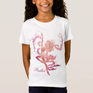 Ballet Fantasy Girls' Baby Doll T-Shirt