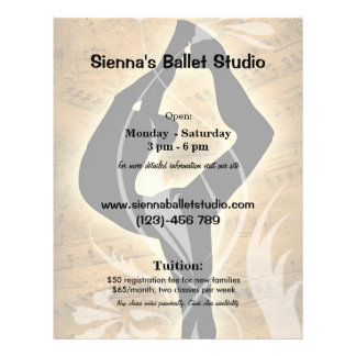 Ballet Tarjetas Publicitarias